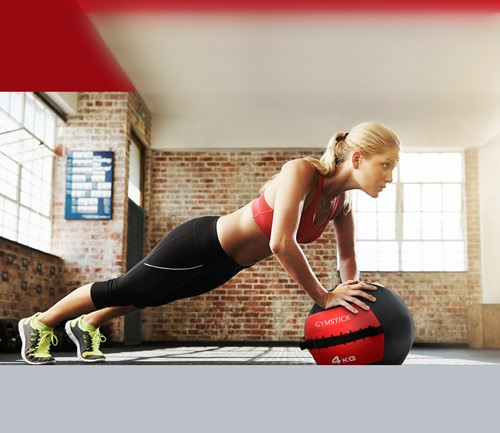 Gymstick Wallball Met Trainingsvideos - 7 kg-2