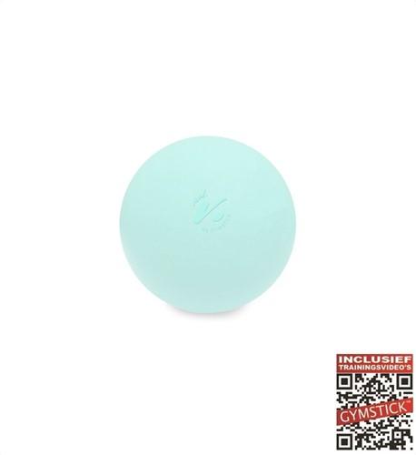 Gymstick Vivid Myo Ball - 6 cm - Turquoise - Met Online Trainingsvideo's