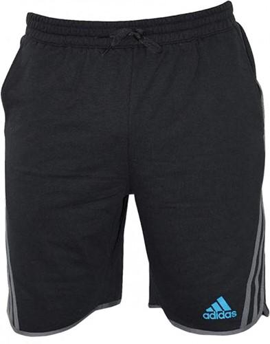 Adidas Leisure Fleece Short Beluga Zwart