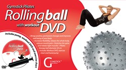 Gymstick Pilates Therapie Bal met DVD