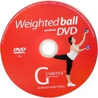 Gymstick yoga ballen 2x 1kg met work- out DVD