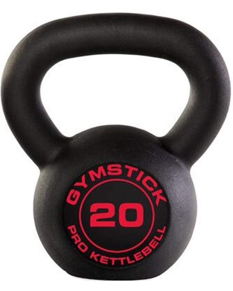 Gymstick Pro Kettlebell - Zwart - Met Online Trainingsvideo's - 20kg