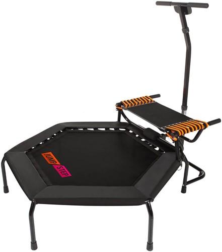Hammer JumpStep - Fitness Trampoline met Step Board - Tweedekans