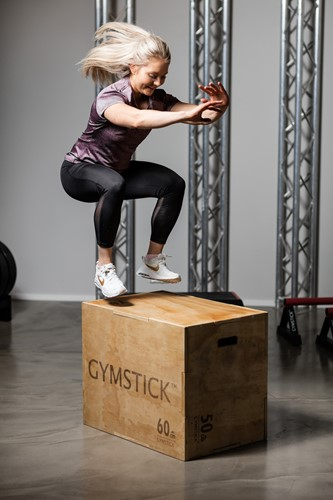 Gymstick Houten Plyo Box 3-in-1-3
