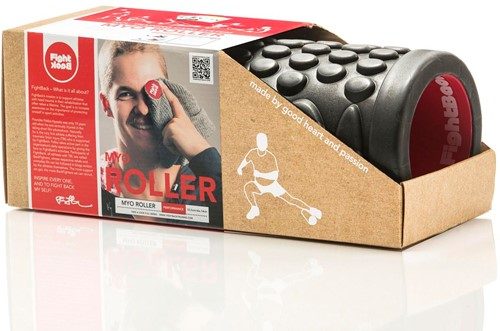 Fight Back Foam Roller met Work-Out Cards-2