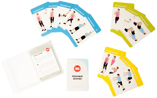 Fight Back Power Bands Training Cards