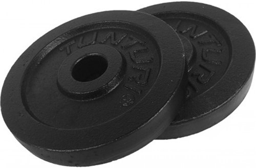 Tunturi Gietijzeren Halterschijf - 30 mm - 2 x 1,25 kg