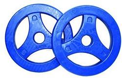 Tunturi Aerobic Schijven 2.5kg Rubber (30 mm) 2 stuks