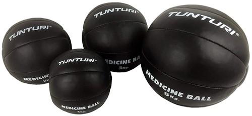 Tunturi Medicijnbal Zwart - 3kg