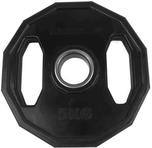 Tunturi Olympic Rubber Plate - 5 kg
