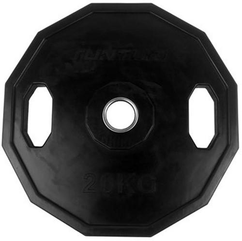 Tunturi Olympic Rubber Plate - 20 kg