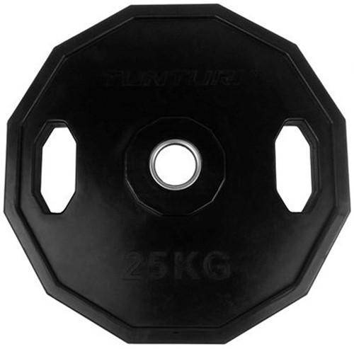 Tunturi Olympic Rubber Plate - 25 kg