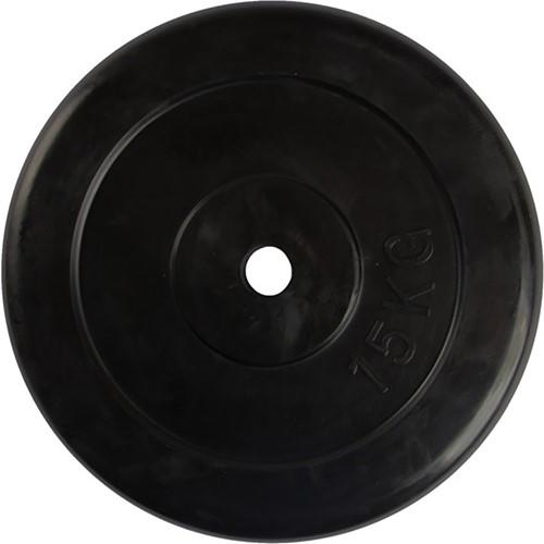 VirtuFit Rubberen Halterschijf - Halter gewicht - 30 mm - 15 kg