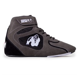 "Gorilla Wear Chicago High Tops - Gray/Black  ""Limited"""
