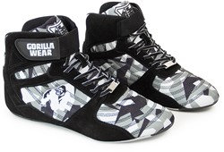 Gorilla Wear Perry High Tops Pro - Black/Gray Camo