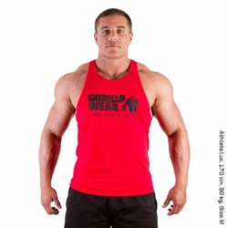 Gorilla Wear Classic Tank Top Red
