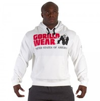 Gorilla Wear Classic Hooded Top White