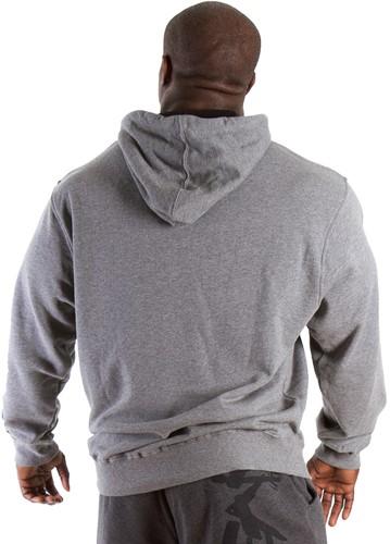 Gorilla Wear Classic Hooded Top Grey Melange