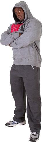 Gorilla Wear Classic Hooded Top Grey Melange-2