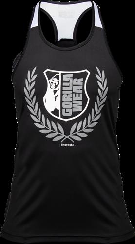 Gorilla Wear Lexington Tank Top - Zwart/Wit