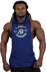 Gorilla Wear Lawrence Hooded Tank Top - Navy