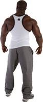 Gorilla Wear Stamina Rib Tank Top White-2