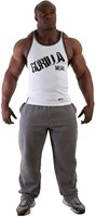 Gorilla Wear Stamina Rib Tank Top White-1