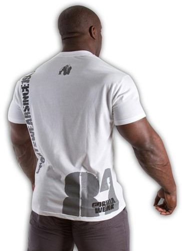 Gorilla Wear 82 Tee - white-3