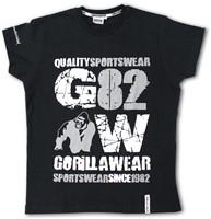 Gorilla Wear 82 Tee - black-3