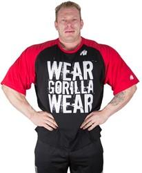 Gorilla Wear Colorado Oversized T-Shirt Black/Red