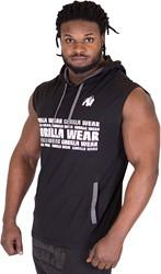 Gorilla Wear Melbourne S/L Hooded T-shirt - Black
