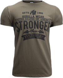Gorilla Wear Hobbs T-Shirt - Army Green