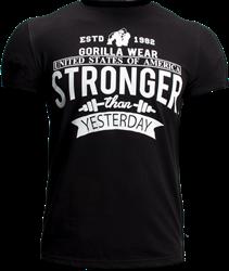 Gorilla Wear Hobbs T-Shirt - Black