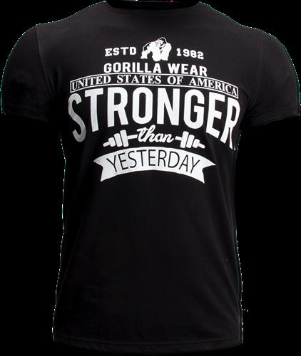 Gorilla Wear Hobbs T-Shirt - Zwart