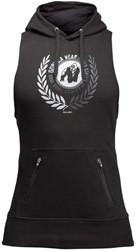 Gorilla Wear Manti Sleeveless Hoodie - Black