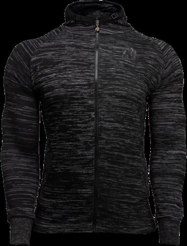 Gorilla Wear Keno Zipped Hoodie - Zwart/Grijs