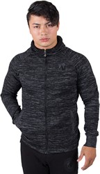 Gorilla Wear Keno Zipped Hoodie - Black/Gray