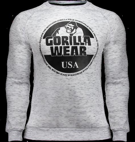 Gorilla Wear Bloomington Crewneck Sweatshirt - Mixed Grijs