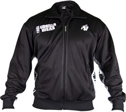 Gorilla Wear Track Jacket Black/White