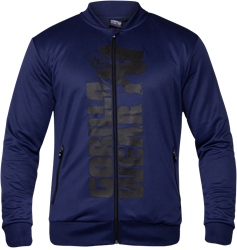 Gorilla Wear Ballinger Track Jacket - Navy Blue/Black
