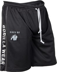 Gorilla Wear Functional Mesh Short (Black/White)