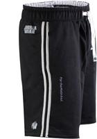 Gorilla Wear 82 Sweat Shorts- Black/Grey-1
