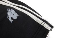 Gorilla Wear 82 Sweat Shorts- Black/Grey-2