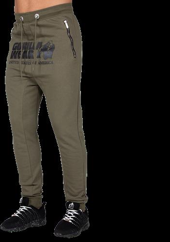 Gorilla Wear Alabama Drop Crotch Joggingbroek - Legergroen