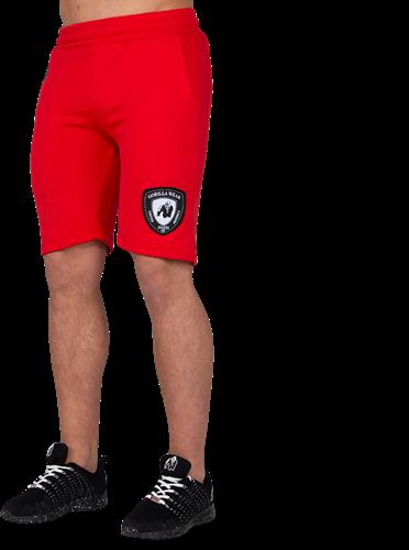 Gorilla Wear Los Angeles Sweat Shorts - Rood