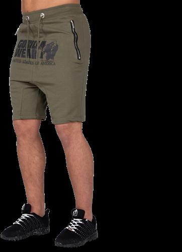 Gorilla Wear Alabama Drop Crotch Shorts - Legergroen