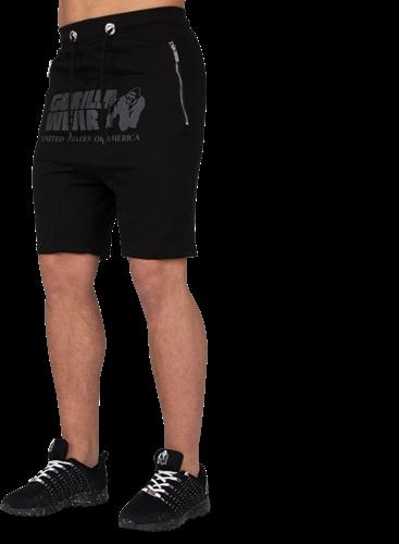 Gorilla Wear Alabama Drop Crotch Shorts - Zwart