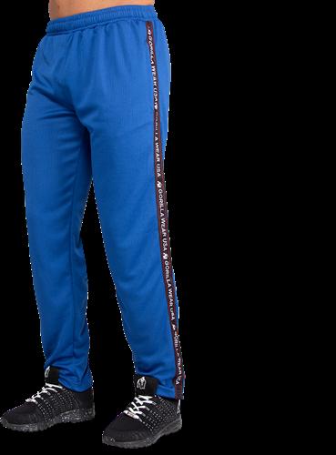 Gorilla Wear Reydon Mesh Trainingsbroek - Blauw