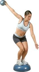 Balanstraining en fitnessballen