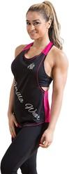 Gorilla Wear Florida Stringer Tank Top Black/Pink